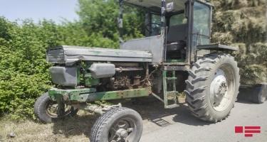 Ucarda traktor piyadanı vuraraq öldürüb