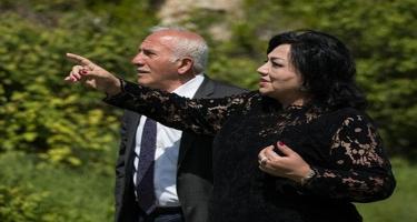 Xan Şuşinskinin qızı Şuşada ata evini tapdı - FOTOlar