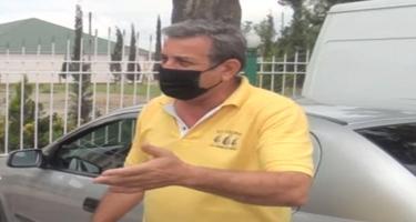 Qayda pozmayan sürücü cərimələnib - VİDEO
