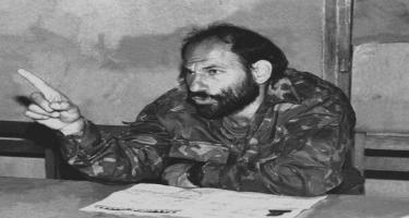 Ermənilər Rusiya ictimaiyyətini heçə saydı: Terrorçunun xatirə gecəsi baş tutdu