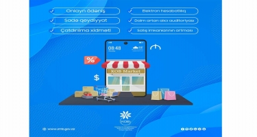 55 onlayn mağaza, 700 adda məhsul: www.kobmarket.az istifadəçilərinin sayı artır
