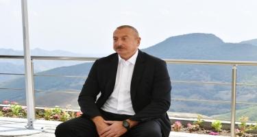 Prezident İlham Əliyev: Bizim Zəfərimiz Ermənistanın bütün ideoloji sütunlarını darmadağın edib