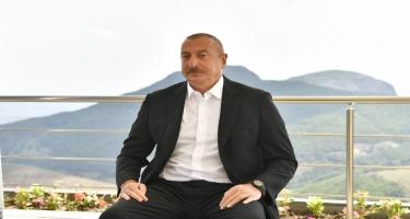 Prezident İlham Əliyev: Şarl Mişelin status, Dağlıq Qarabağ sözlərini işlətməməsi çox müdrik bir addım idi