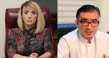 Tanınmış telejurnalist həkimi məhkəməyə verib