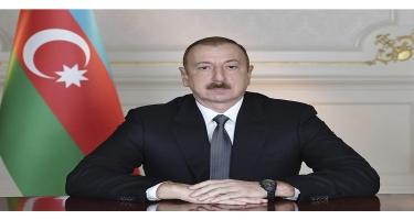 Prezident İlham Əliyev Çin Xalq Respublikasının Sədrinə başsağlığı verib
