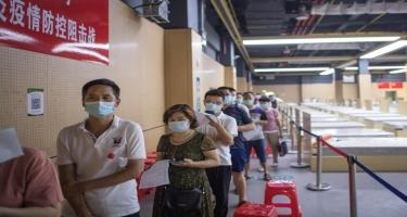 Çində əhaliyə 1,5 milyard doza COVID-19 peyvəndi vurulub