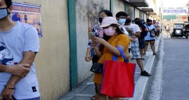 Filippində milyonlarla uşağa evdən çıxmaq qadağan edilib