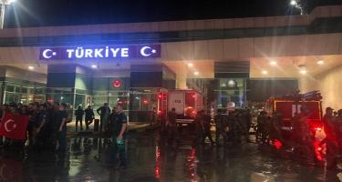 Növbəti yanğın-xilasetmə qrupu Türkiyəyə çatıb - FOTO