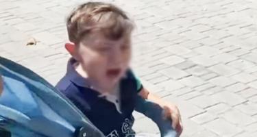 Uşağın döyüldüyü deyilən video haqda - Rəsmi açıqlama