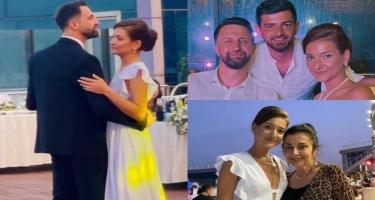 Azərbaycanlı aktrisa ikinci dəfə ərə getdi - FOTO