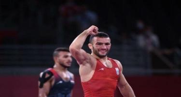 Azərbaycanlı güləşçi Olimpiadada gümüş medal qazanıb