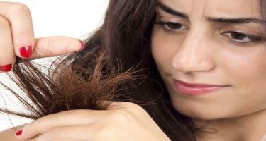 Yay aylarında saçların zədələnməsi