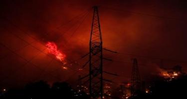 Türkiyədə qorxulan oldu: İstilik Elektrik Stansiyası belə partladı - FOTO