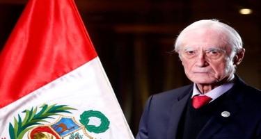 Perunun xarici işlər naziri istefa verdi