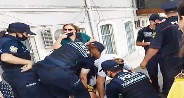 DİN-dən polislərin qadını döyməsi iddiasına cavab