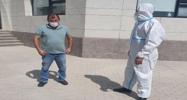 İmişlidə COVID-19 xəstəsi saxlanılıb - VIDEO
