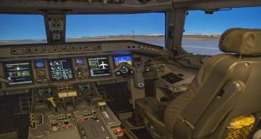 AZAL-ın Pilotların Hazırlığı Mərkəzində yeni müasir uçuş trenajoru quraşdırılıb - VİDEO - FOTO