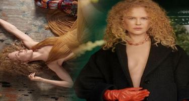 Qıvrımsaçlı və kürən: Nikol Kidmanın romantik payız FOTOSESSİYASI