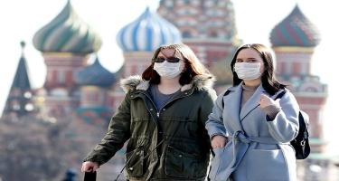 Rusiyada daha 21 379 nəfər COVID-19-a yoluxub, 828 nəfər ölüb