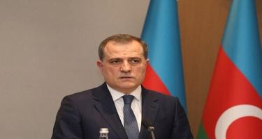 Ceyhun Bayramov həmsədrlərin iştirakı ilə Ermənistan xarici işlər naziri ilə görüşüb