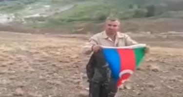 Qazimiz 10 ay sonra yaralandığı yerdə  əşyalarını tapdı