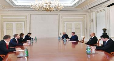 Prezident İlham Əliyev Çex Respublikasının xarici işlər nazirini qəbul edib - FOTO