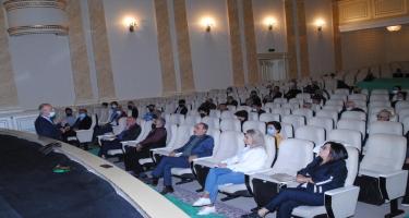 Sumqayıt Dövlət Dram Teatrında ümumi toplantı keçirildi - FOTO