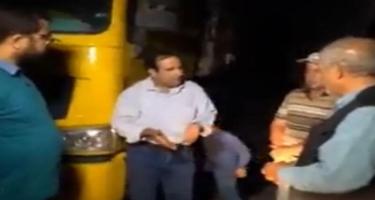 Ermənistana gedən iranlı sürücülərin