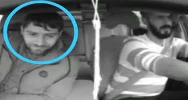 Bu şəxs Bakıda taksi sürücülərini bıçaqla hədələyib pul tələb edir - VİDEO