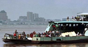 Konqoda gəmi batıb, 51 nəfər ölüb, 69 nəfər itkin düşüb