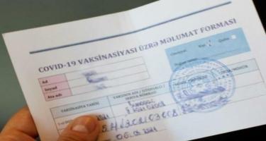 50 manata saxta COVID-19 pasportu satan tibb işçiləri - VİDEO