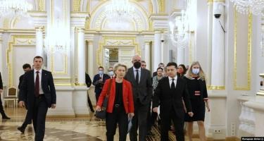 Avropa İttifaqı liderləri Ukraynaya dəstək verir