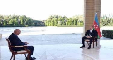 Zəfər xronikası 15 oktyabr 2020-ci il: Prezident İlham Əliyevin Türkiyənin NTV televiziyasına müsahibəsi - VİDEO