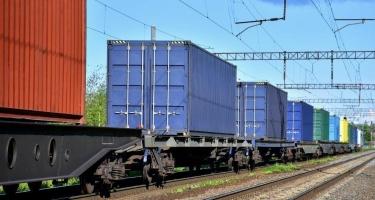 Qarabağa ilk konteyner blok qatarı yola salınıb
