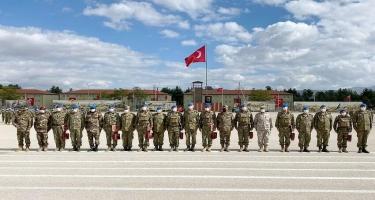 Türkiyədə kursda iştirak edən Azərbaycan hərbçilərinin buraxılış mərasimi keçirilib