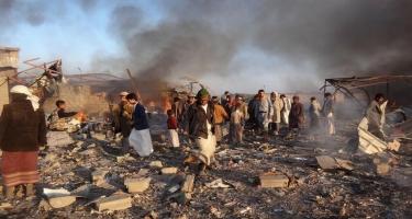 Yəməndə hava zərbəsi zamanı 160-dan çox husi öldürülüb