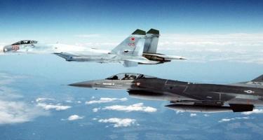Türk F-16-ları yunan pilotlara dəhşət yaşatdı - ŞOK VİDEO