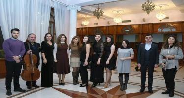 """""""Gənclərə dəstək"""" layihəsinin növbəti uğurlu konserti - FOTO"""
