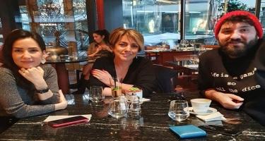 Lalə Kayahanın keçmiş həyat yoldaşı ilə görüşdü - FOTO