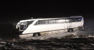Türkiyə klubunun avtobusu qəzaya uğradı: yaralılar var