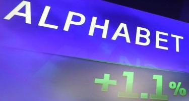 """""""Alphabet"""" holdinqinin kapitallaşması 1 trilyon dolları ötüb"""