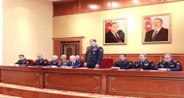 Vilayət Eyvazov generalları topladı - FOTO