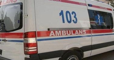 Sabirabadda avtomobilin vurduğu piyada Bakıya gətirilib