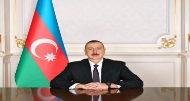Prezident İlham Əliyev TASS-ın baş direktorunun birinci müavini Mixail Qusmanı təbrik edib
