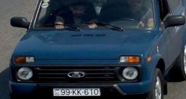 Tanınmış aparıcının olduğu avtomobil cərimələndi - İnstaqram üçün video çəkirmiş - FOTO