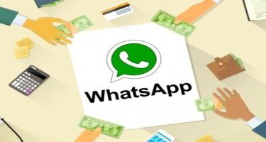 Pul köçürmələrini və onlayn alış-verişi WhatsApp üzərindən həyata keçirmək mümkün olacaq?