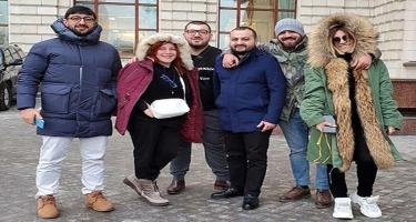Şou-biznesin 4 məşhuru Moskvada barışdı - FOTO