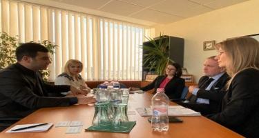 KOBİA Macarıstanın müvafiq qurumları ilə əməkdaşlığın genişləndirilməsini müzakirə edib - FOTO
