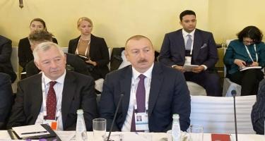 Prezident İlham Əliyev: Bizim planımız 2030-cu ilə qədər elektrik enerjisinin 30 faizini bərpaolunan enerji hesabına ödəməkdir