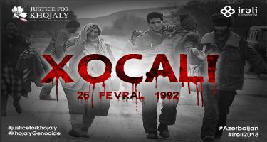 Ombudsman Xocalı soyqırımının ildönümü ilə əlaqədar beynəlxalq təşkilatlara bəyanat göndərib
